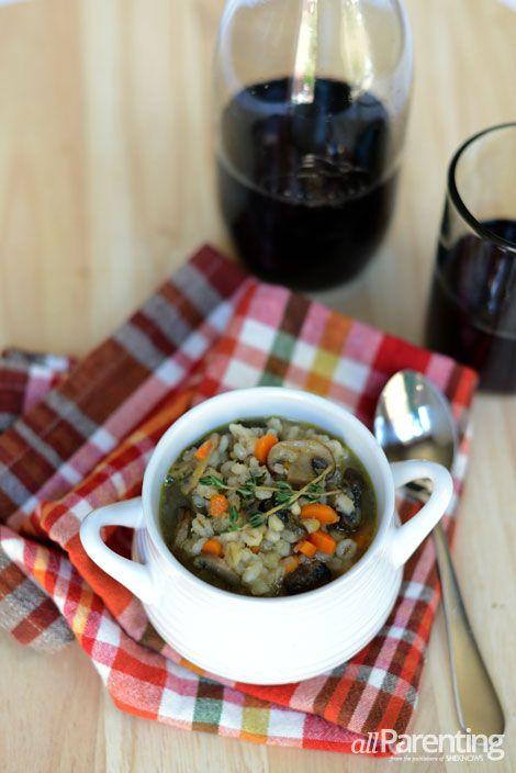 Mushroom barley soup | Food Fantasies | Pinterest