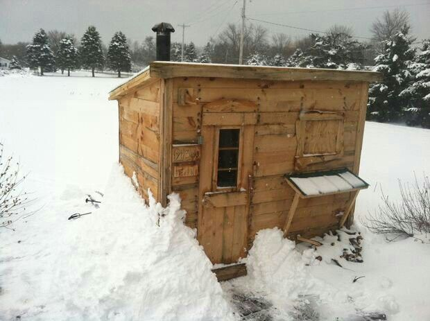 DIY Wood Burning Sauna - instructables | Projects | Pinterest