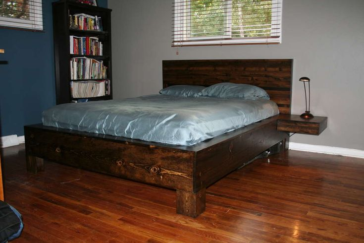 cool looking platform bed for the home pinterest