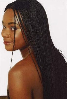 Micro Braids Hairstyles |  You Can Improve Your Micro Braids black