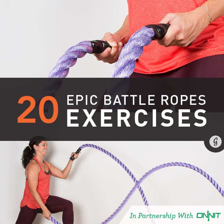 20 Epic Battle Ropes Exercises