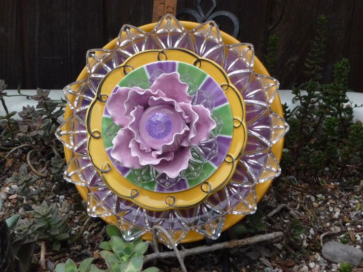 drought resistant plate flower diy glass flowers
