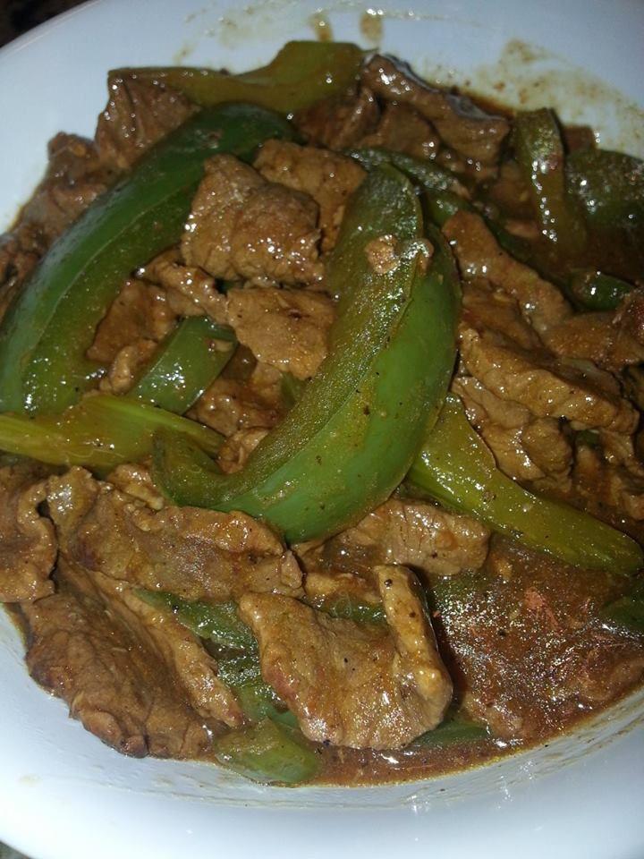 Beef Pepper Steak.   YUM   Pinterest