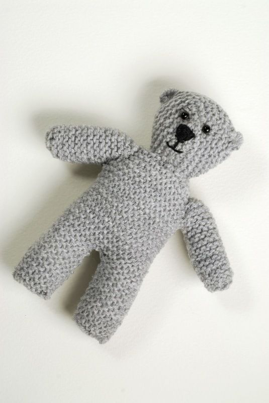 Knitted Bear Patterns For Free : Knitted Bear