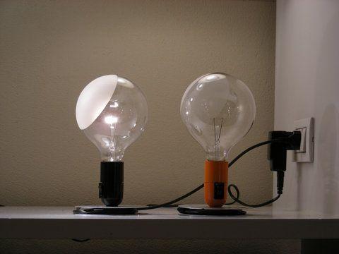Lampadina. Castiglioni per Flos Lighting Pinterest