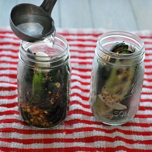 Grilled Sweet and Spicy Pickles | OtK: Canning, Pickling and Preservi ...