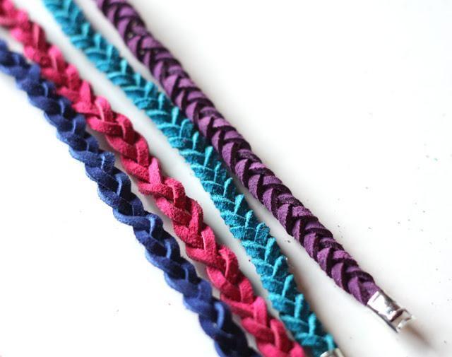 diy leather bracelet tutorial - photo #20