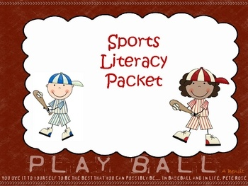 This Sports Themed Packet includes {10} Literacy Centers and {5} Posters!*Catching Compound Words  *Compound Word Poster*Sight Word ABC Ord...