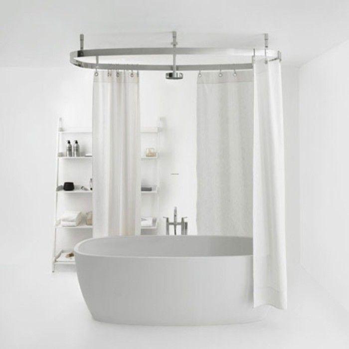 Shower Curtain For Clawfoot Tub 3 Bathroom Remodel Pinterest