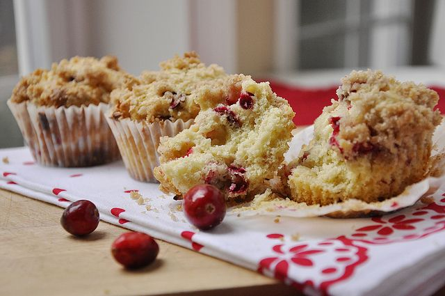 Cranberry White Chocolate Muffins are the perfect holiday muffin ...