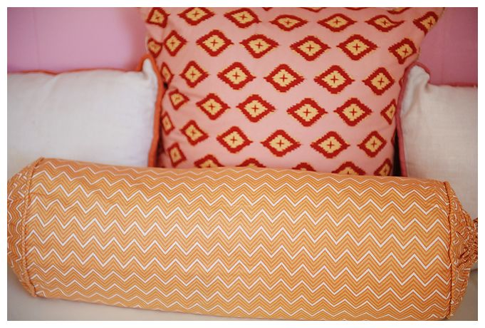 Love the patterns and colors of these @Annette Tatum pillows