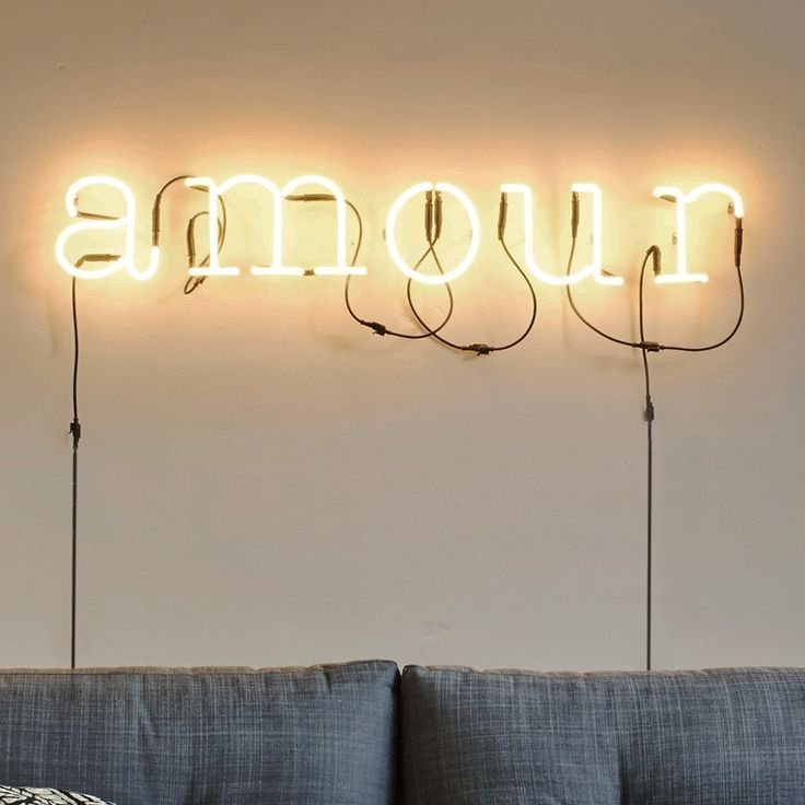 Amour neon wall light Graham and Greene Kitchen/ Lounge Ideas Pin?