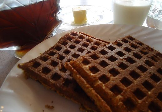 Multi-Grain Pumpkin Waffles and Pancakes | Yummy Goodness- Super Heal ...