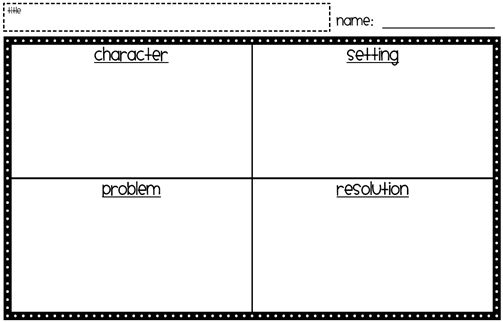 graphic organizer for essays
