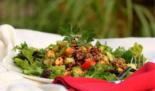 Seeded Quinoa Salad
