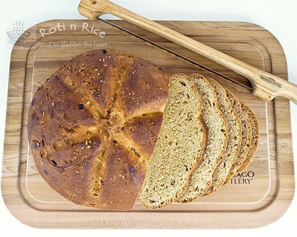 Roti n Rice | Dates and Granola Bread