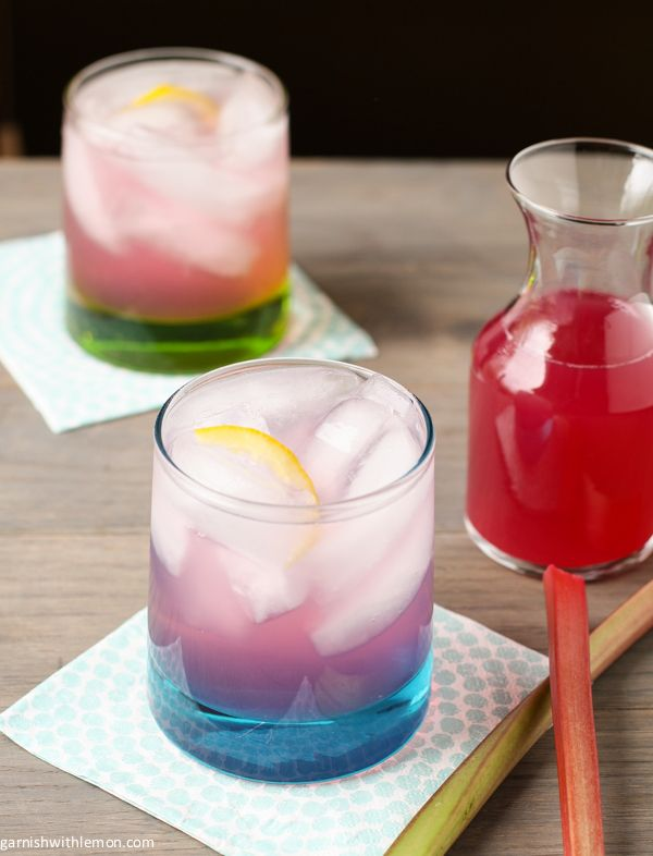 Rhubarb Raspberry Simple Syrup And Sodas Recipes — Dishmaps