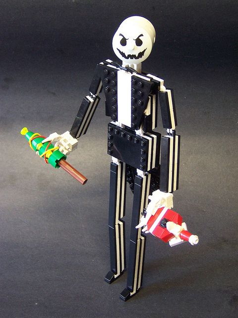 Jack from Nightmare Before Christmas. | Home Deco - Lego | Pinterest