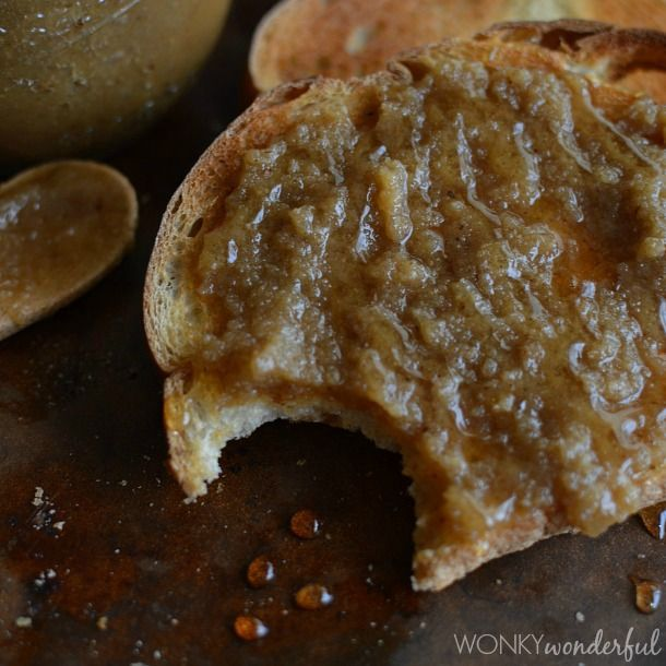 Walnut Butter Baklava Spread : easy nut butter recipe