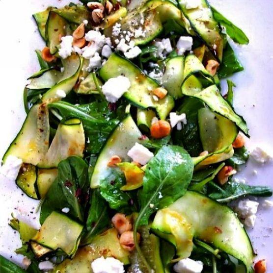 Grilled Zucchini With Yummy Lemon Salt Recipes — Dishmaps