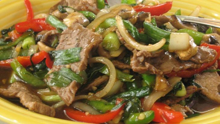 Thai Spicy Basil Beef | Savory | Pinterest