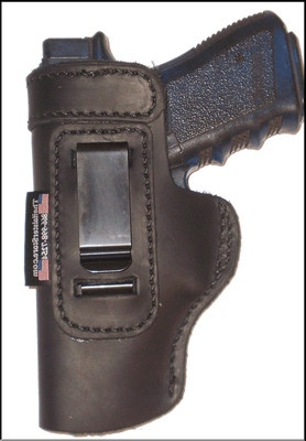 Shield Leather Holster For Left Hand Inside The Waistband - 9mm Shield ...