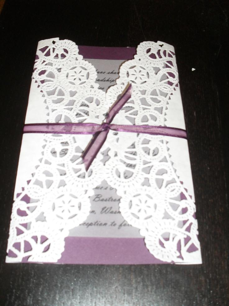 Wedding invitations wedding ideas pinterest for Pinterest invitation