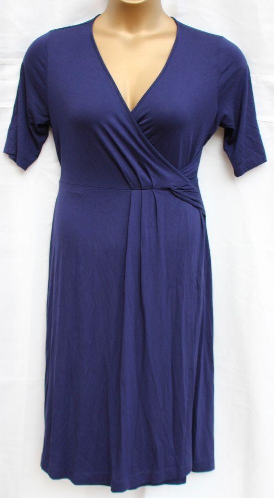 m s navy blue dress size 14 marks spencer