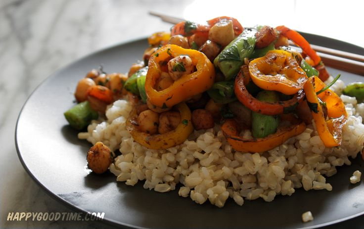 Garbanzo Stir-Fry Recipe — Dishmaps
