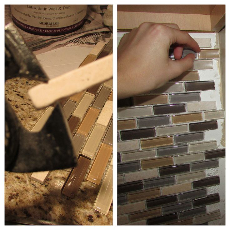 how to install tile backsplash hometalk