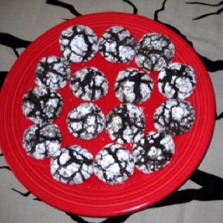 Chocolate Crinkle Cookies | Go Ahead Bake My Day | Pinterest