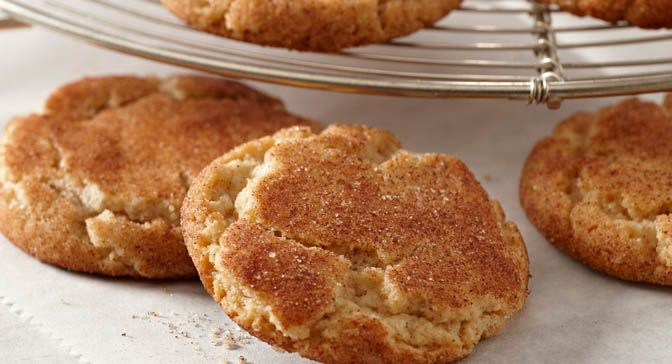 Double Cinnamon Sugar Cookies : Dress up the basic sugar cookie with a ...