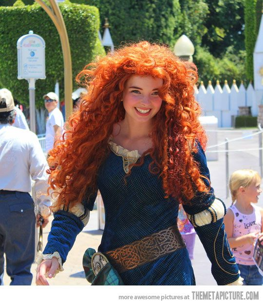 Real-life Merida from Brave