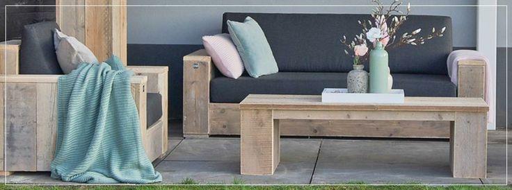Dutchwood steigerhouten meubelen online steigerhout - Bauholz mobel garten ...