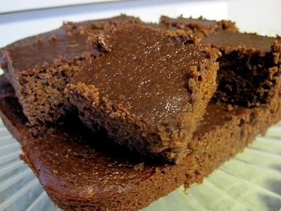 "Jillian Michael's homemade ""healthy"" fudge brownies"