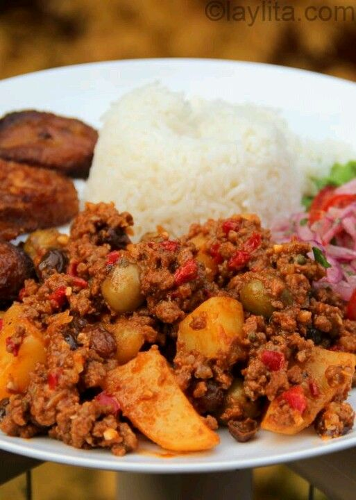 Cuban Style Beef Picadillo !! | Yummy Food !! | Pinterest