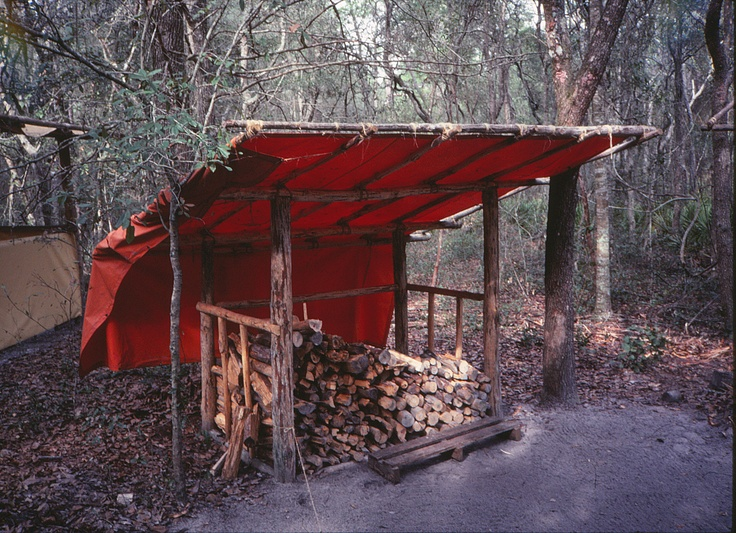 The Wood Tent Need To Build One Cabin Love Pinterest