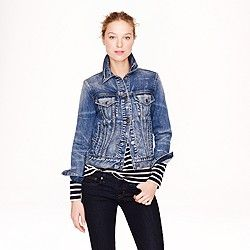 Collection Japanese indigo denim jacket