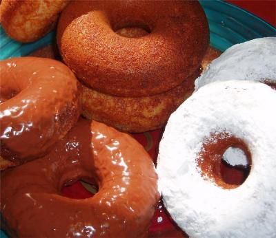 GF Doughnuts in an oil fryer | Pamela's Products my hubby is making these for me this weekend, so excited : )