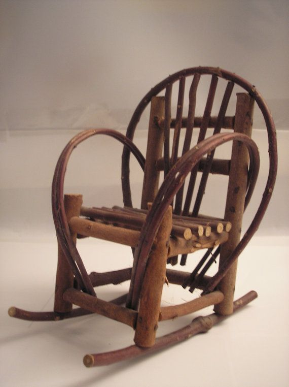 Vintage Primitive Handmade Stick Rocking Chair by daddydan on Etsy, $ ...
