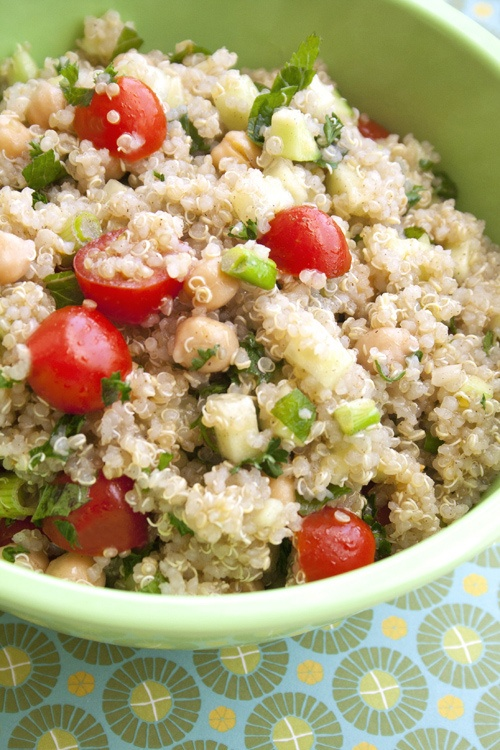 Quinoa tabbouleh | Just plain yummy | Pinterest