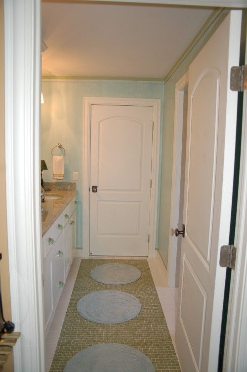 jack and jill bathroom for both dorm rooms to enter into