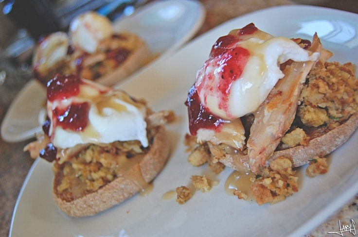 Thanksgiving Eggs Benedict | Holiday food | Pinterest