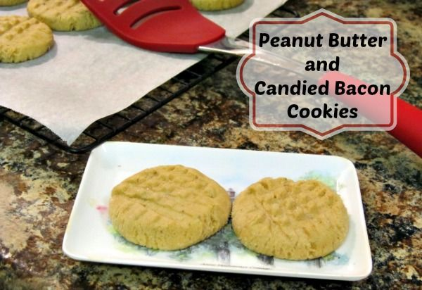 Peanut Butter & Candied Bacon Cookies | Dessert | Pinterest
