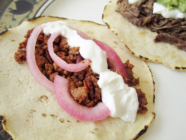 Homemade Fresh Chorizo Tacos   Culinary Content Network   Pinterest