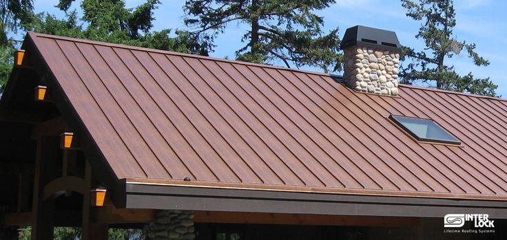 Metal roofre copper standing seam metal roof for Copper standing seam roof