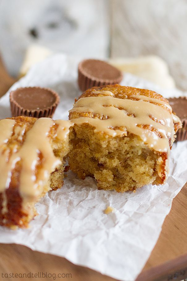 The Ultimate Reeses Peanut Butter Banana Bread from @Taste and Tell
