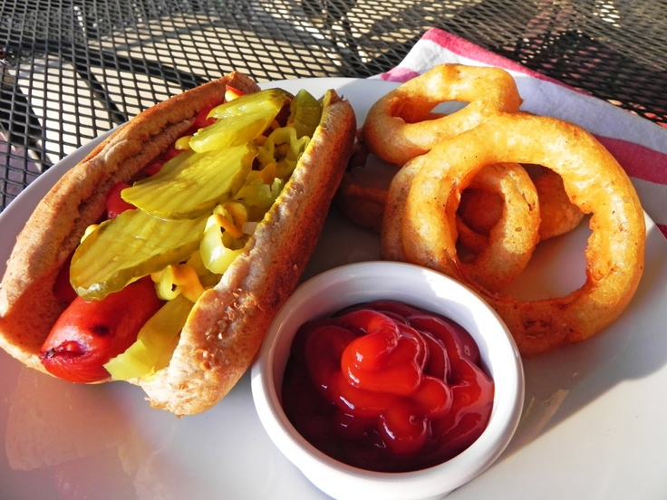 ... Dowling: mangia mondays 14: chicago dogs & beer-battered onion rings