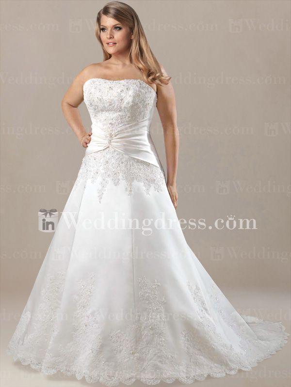 Modest Plus Size Wedding Dresses