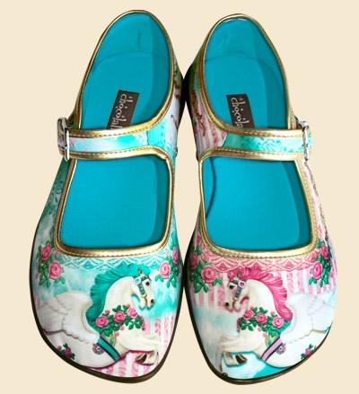 Chocolaticas Shoes from Venezuela
